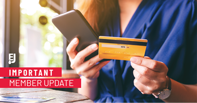 Important Update: Credit Card Processing Fee