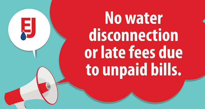 COVID-19: No Water Disconnections or Late Fees Due to Unpaid Bills