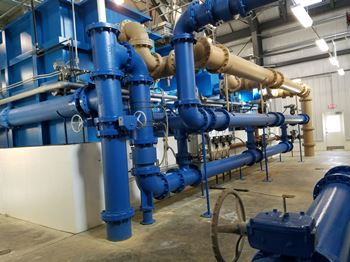 Gila Water Plant Water Pipes